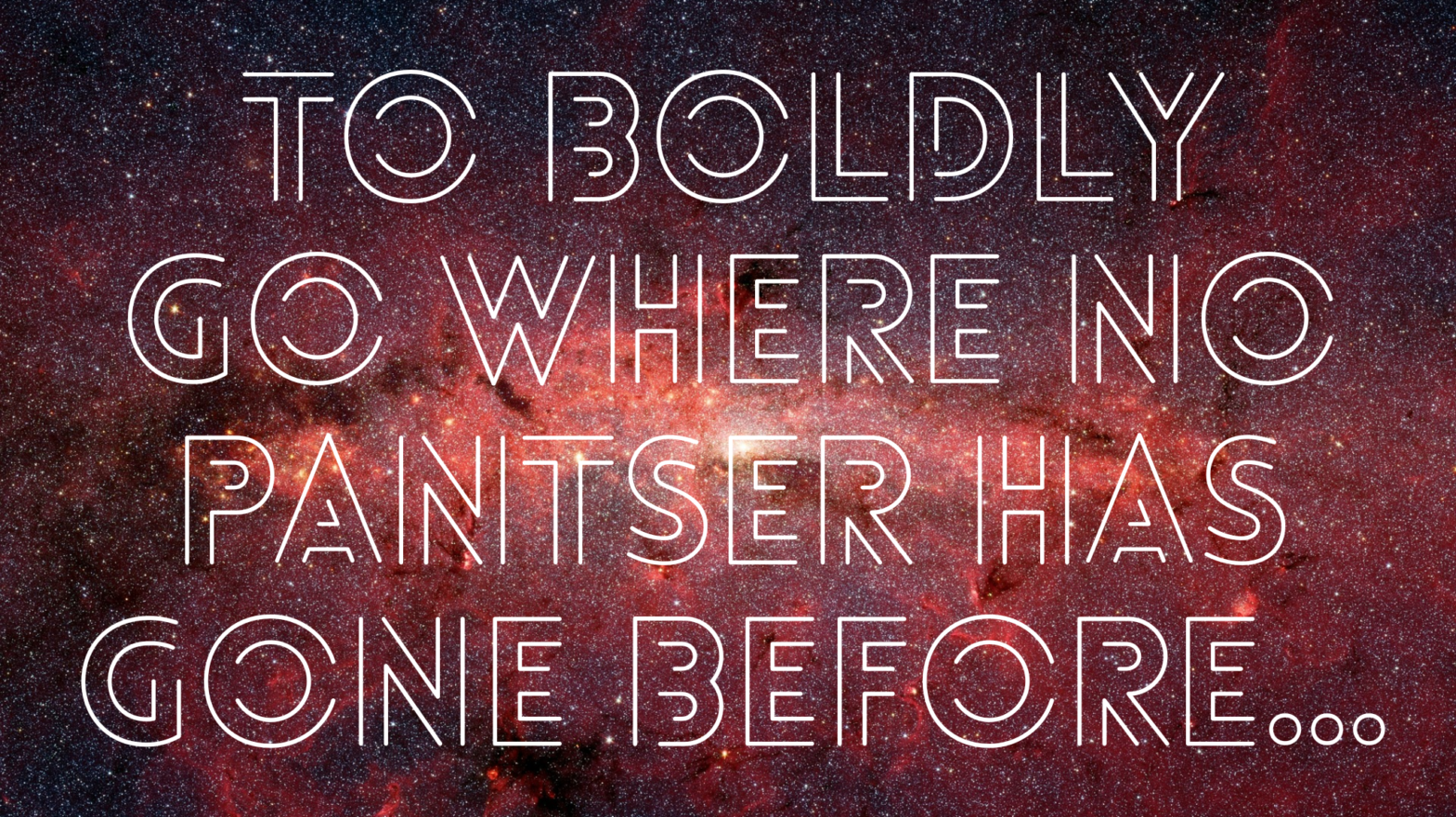 To boldly go where no pantser has gone before…